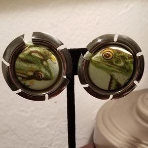 Fabulous Frog Vintage Sarah Coventry Earrings